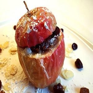 Manzana asada en airfryer