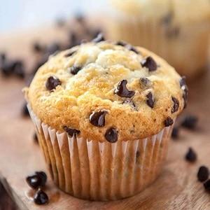 Muffins con Chips de Chocolate en Freidora sin Aceite
