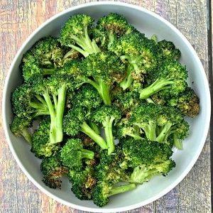 Receta de brócoli rostizado en freidora sin aceite