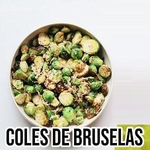 Receta de coles de bruselas en freidora sin aceite