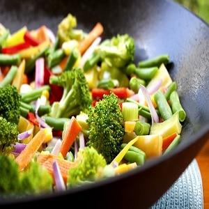 Verduras en airfryer